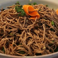 Try this Soba Noodle Salad recipe by Chef Gordon Ramsay. This recipe is from the show Gordon's Ultimate Home Cooking.