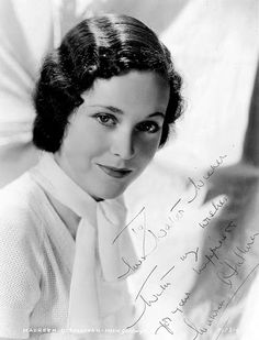 """The photo """"Maureen O'Sullivan"""" has been viewed 365 times. Maureen O'sullivan, My Wish For You, Vintage Beauty, Black And White, Albums, Happiness, Times, Blue, Picasa"""