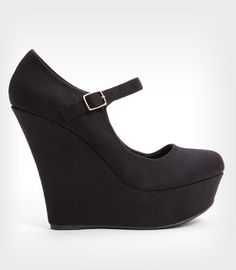 Simple Black Wedges go with almost anything!