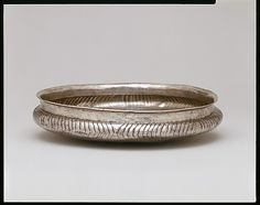Silver bowl Period: Early Cycladic I–II Date: ca. Culture: Cycladic Medium: Silver Dimensions: diameter 8 in. cm) Classification: Gold and Silver Credit Line: Bequest of Walter C. Benaki Museum, Ancient Greek Art, Roman Art, Bronze Age, Old Art, Art Object, Metropolitan Museum, Art Google, Archaeology