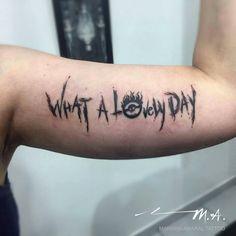 Tattoo by Mariana Amaral, São Paulo, Brazil/Brasil. | facebook.com/marianaamaraltatto Mad Max What a lovely Day