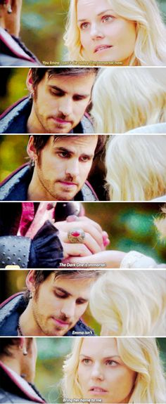 "Killian Jones and Emma Swan - 5 * 7 ""Nimue"" #CaptainSwan"