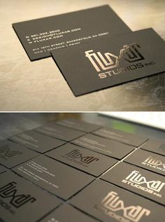 15 Lashing Typographic Business Card Designs