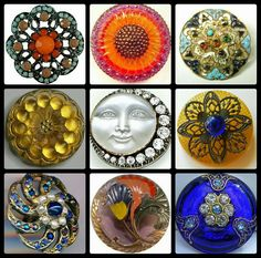 Happy dance since it is HAPPY BUTTON PORN FRIDAY!! Vote for your favorite. From Manda Made on FACEBOOK. #buttonlovers