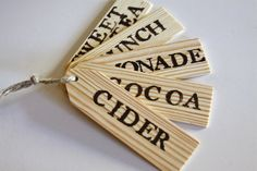 Drink Dispenser Labels on Etsy