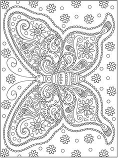 mindfulness colouring butterfly - Google zoeken
