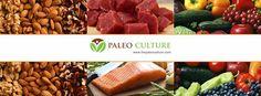 Image of Paleo Culture's social media banner design