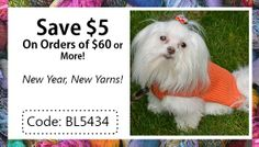 The latest newlsetter from www.AlpacaDirect.com will save you $5 on #YARN!