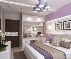 Love everything about this bedroom Интерьер спальни