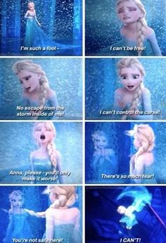 Frozen~Elsa~in First Time in Forever reprise