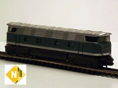 Collection of N scale model trains by PIKO from the former east Germany. N Scale Gauge 9 mm N Scale Model Trains, Scale Models, East Germany, Childhood Memories, History, Historia, Scale Model