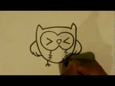 How to Draw an Owl - Owl Drawings