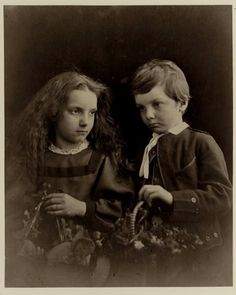 Portrait of Charlotte and George Norman Jr, 1868 - Julia Margaret Cameron