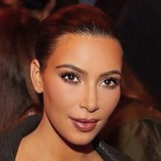 """Tonight's look for #Givenchy #pfw @kimkardashian @jenatkinhair #makeupbymario lips- @maccosmetics midi mauve""-shiseido lips"