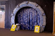 Stargate Tunnel awesome time travel decor ideas