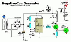 Do It Yourself 22 Negative Ion Generator Electronic Engineering Electronics Engineering Projects Negative Ions