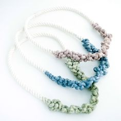 This is a funky necklace that would add pizazz to an outfit. Now if only it were in my price range.