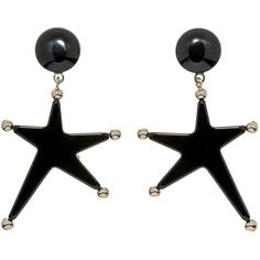 Marni Earring ($310) ❤ liked on Polyvore featuring jewelry, earrings, black, round earrings, round pendant, clip earrings, clip back earrings and earrings jewelry