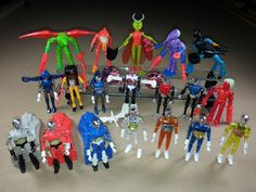 Mego Micronauts.  I used to have most of these figures when I was a kid.  I had the solid-colored time travelers too.  If I had the money, I would set up a business selling these.  They are very cool, and there are people that are willing to pay big bucks for these toys.
