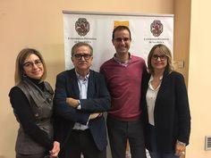 Con Josep Mª Martí (SER y UAB) en @fcomsalamanca