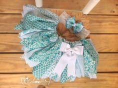 Baby tutu: fabric with satin bow