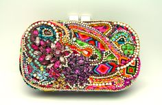 The One of a Kind Clutch by Doloris Petunia - No. 1. $1,600.00, via Etsy.