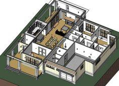 Simply Elegant Home Designs Blog: Revit House Plans