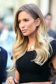 Am I brave enough to do this? Only some people can pull this off without it looking like their roots are just grown out. Ombré