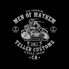 Teller Customs T-Shirt $9 Sons of Anarchy tee at Zebra Tees!