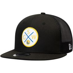 sports shoes f4da4 7cb8f Men s Golden State Warriors New Era Black Vert Trucker 9FIFTY Snapback Hat,  Your Price   31.99