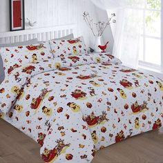 Noel Multi Printed Duvet Quilt Cover Bedding Set — Linens Range