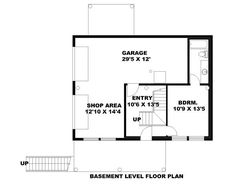 Love the lowest level garage floor plan