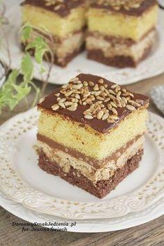 ciasto ze słonecznikiem | Domowy Smak Jedzenia .pl