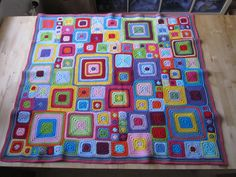 Babette blanket | Finally finished my babette and I love it!… | Fanny | Flickr