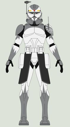 Star Wars - Commander Wolffe by on DeviantArt Star Wars Clone Wars, Star Wars Art, Captain America Suit, Clone Trooper Helmet, Star Wars Love, Star Wars Images, Cosplay Diy, Art Pages, Sci Fi