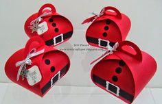- Curvy Keepsake - Santa Stampin' Up! UK Demonstrator - Teri Pocock: Stampin' Up! - Curvy Keepsake - SantaStampin' Up! UK Demonstrator - Teri Pocock: Stampin' Up! Stampin Up Christmas, Christmas Paper, Handmade Christmas, Christmas Projects, Christmas Crafts, Pillow Box, Stamping Up Cards, Keepsake Boxes, Craft Fairs