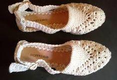 Resultado de imagem para sandalias de croche