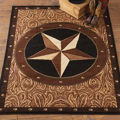 Take savings up to on Southwest rugs at Lone Star Western Decor, for example this Sheridan Star Rug! Texas Star, Tex Mex, Western Bedroom Decor, Western Lamps, Westerns, Texas Western, Western Theme, Rustic Theme, Rustic Decor