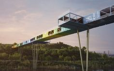 ECOntainer Bridge by Yoav Messer Architects (Israel)