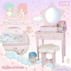 #LittleTwinStars #KikiLala vanity set (((o(*゚▽゚*)o)))