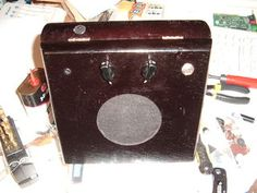 Install the Speaker and Controls Into the Cigar Box