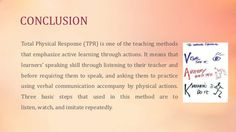 Why TPR is the perfect way for Learning (the foreign languages)?..