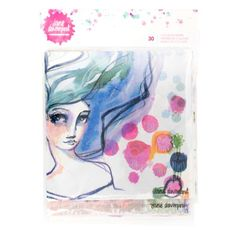 Jane Davenport Mixed Media Acrylic Stamps û Eyes Lips Nose Face Stamp 13 Pieces