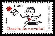『プチ・ニコラ』の切手も。