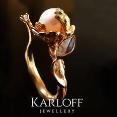 "Saatchi Art Artist Robert Karloff; Sculpture, ""GOLD RING ALLAMANDA"" #art"