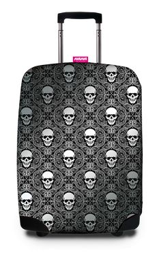 SuitSuit Skull luggage