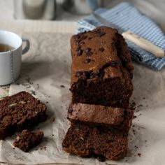 Chocolade-courgettecake - Dille & Kamille