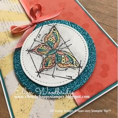 Ellen Woodbridge Independent Stampin' Up!® Demonstrator - Central Coast NSW Australia: In This World, Playful Backgrounds, Cupcakes & Carousels with DSP #GDP078