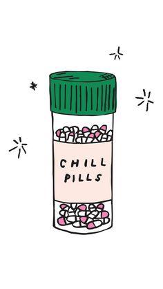 Chill Pills iPhone 6 wallpaper