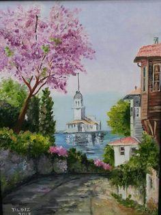 Yıldız İkiz Istanbul, Decoupage, Art Gallery, Arts And Crafts, Watercolor, Fine Art, Painting, Inspiration, Sketchbooks